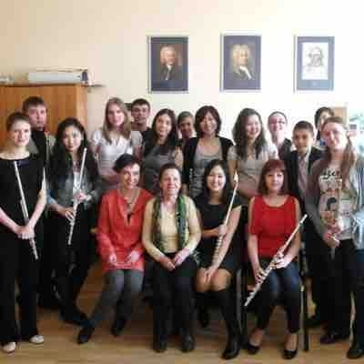 After flute festival with amazing Editha Fil (professor from Warsaw conservatory,Poland)