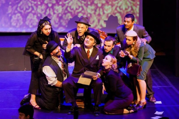 (Pictured Far Right) As Nella in Frost Opera Theater's production of Gianni Schicchi by Puccini