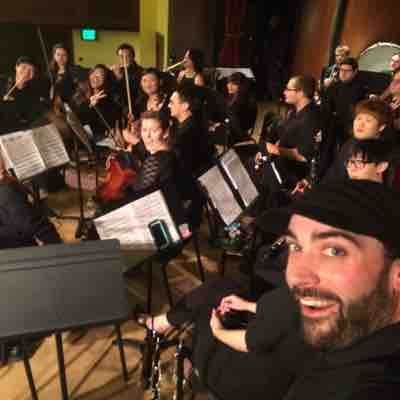 Performing with The Summoners Orchestra. #principalbassoon #principalsopraninoclarinet