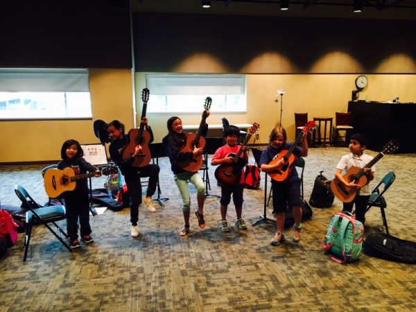 2016 Guitar Class. They were a lot of fun.
