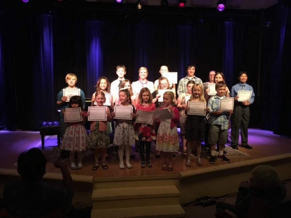 Music Recital in Snohomish, 2016.