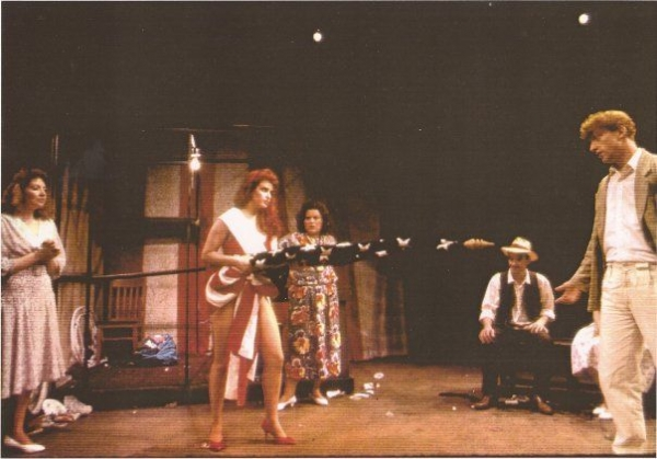 Poor Quality, from 1989, Delmount in Miss Firecracker Contest. That's me on the far right of the photo.  Nice perm eh?
