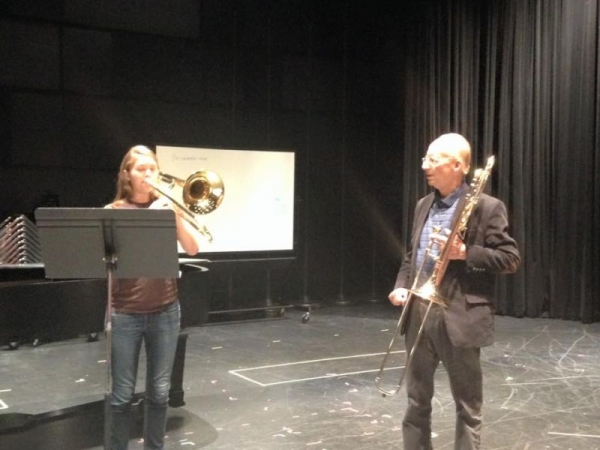 Masterclass with trombone legend Jay Friedman