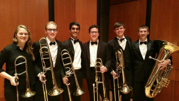 Section photo post final performance at Texas Music Festival