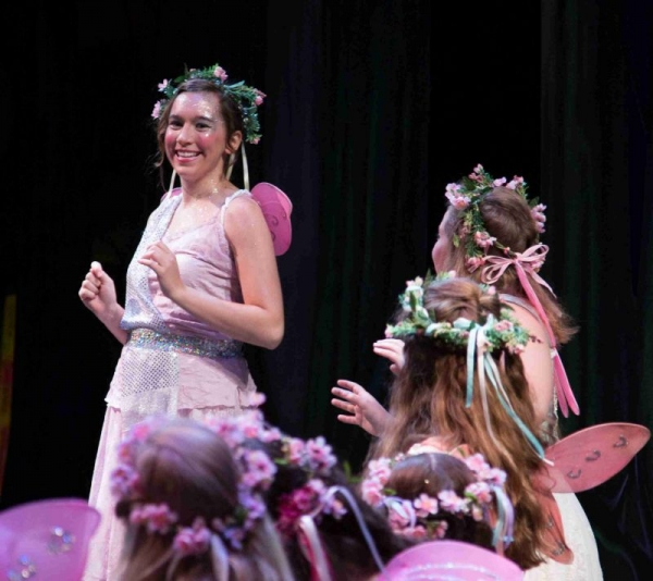 Katie as Celia in Iolanthe with Young Victorian Theatre Company
