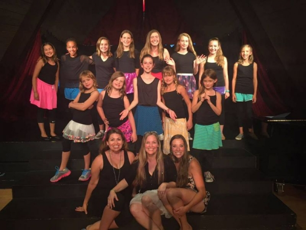 My show choir in CO this summer, and my lovely assistants!