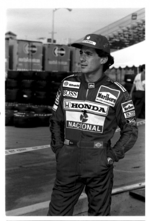Ayrton Senna. 3 time Champion of the World