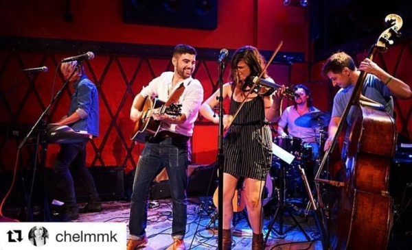 Performing at Rockwood Music Hall