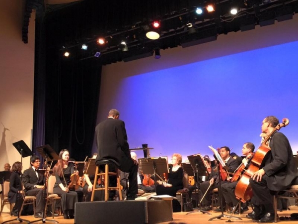 Concertmaster with Bellflower Symphony