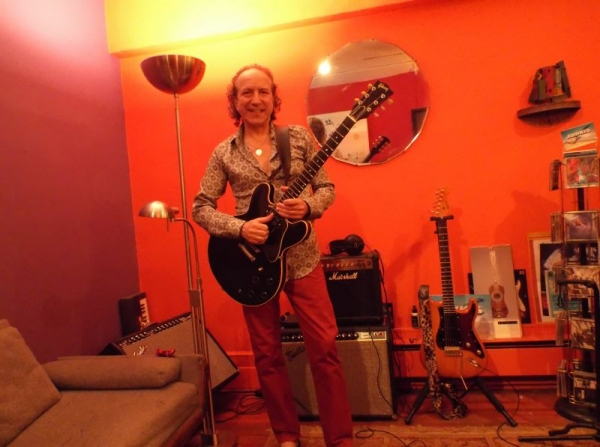 In my studio at midtown - Manhattan