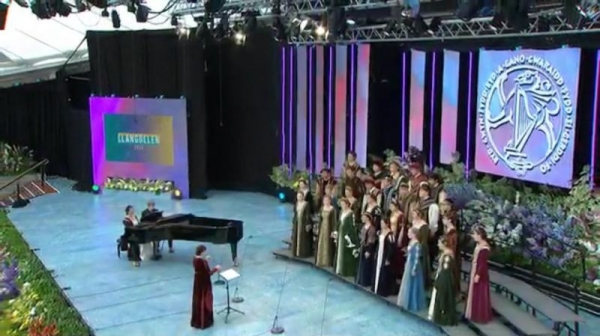 Invited to perform at the 2016 Llangollen International Eisteddfod.