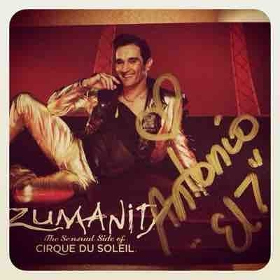 Zumanity's gigolo. Character created on my own.