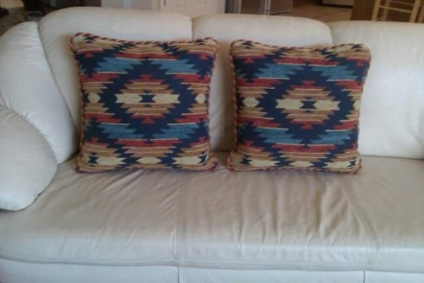CUSTOM Southwest Pillows. DOVE MOUNTAIN Community.
