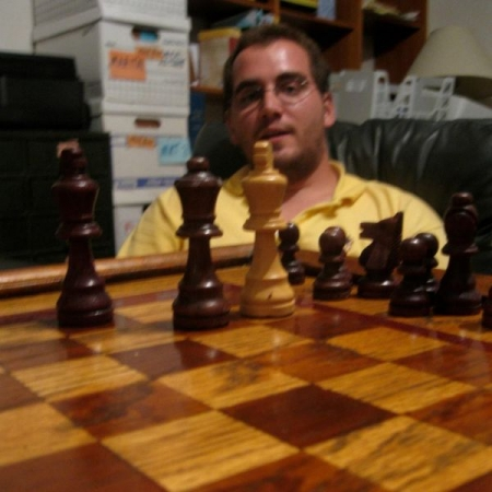 A checkmate against my Dad several years ago.