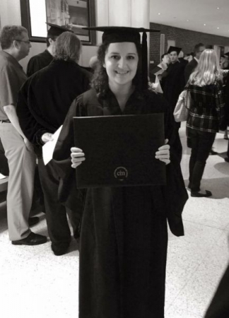 Graduating from the Cleveland Institute of Music with my BM in violin performance.
