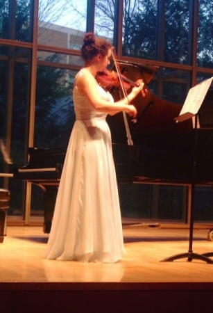 Performing my first master recital at CIM