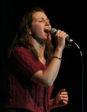 Belting some Beyonce back in the day. I don't get the chance to sing pop as much as I like, but I jump at any opportunity I get!