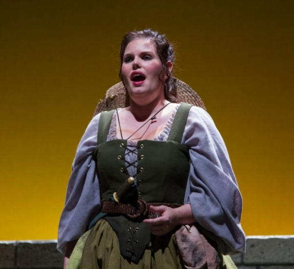 "Performing Elsie in ""The Yeomen of the Guard"" with Seattle's Gilbert and Sullivan Society at the Repertory Theater at the Seattle Center"