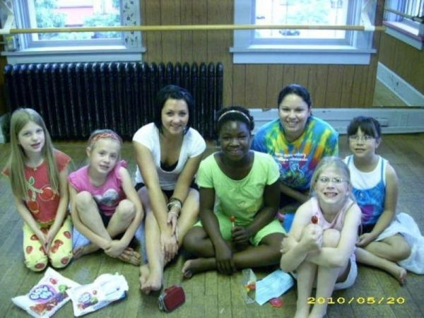 "Last Day of Dance ""Fun Day"" 2010 with Intermediate Ballet"