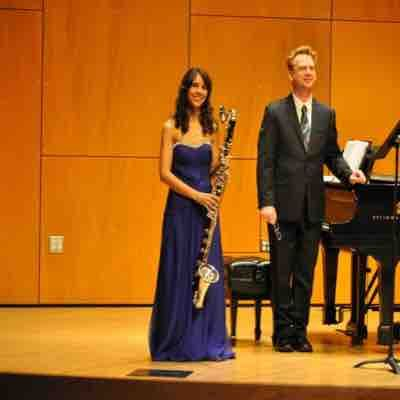 My recital in my undergrad!