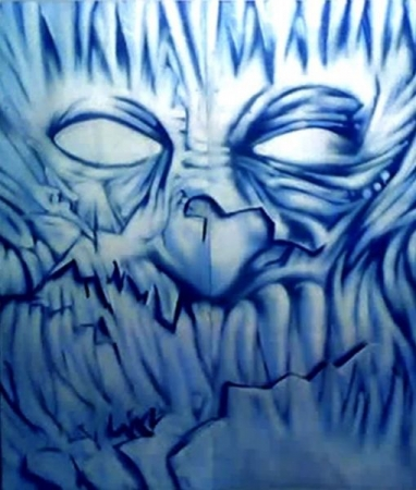 Aerosol (Spray Paint) work