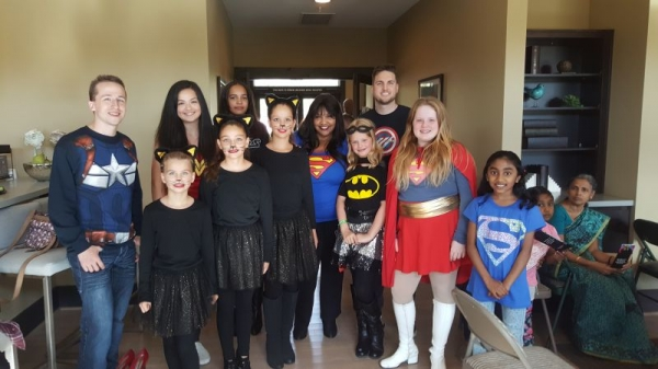 My students and me at our Comic-Con Back to School recital Sept. 18, 2016.
