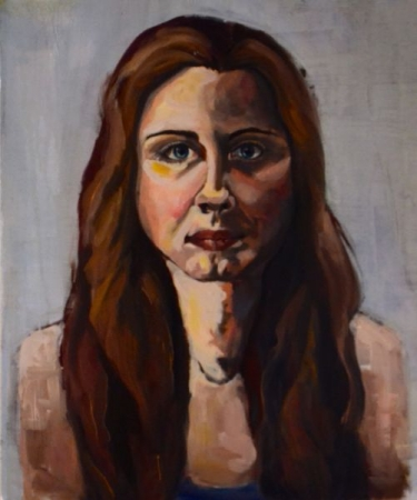 Oil painting- Self-portrait