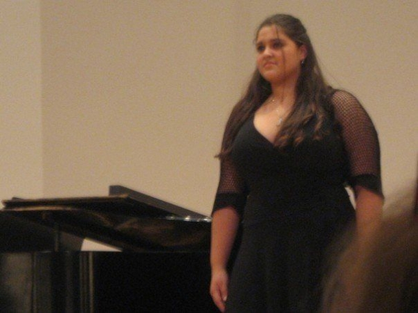 Recital at Manhattan School of Music