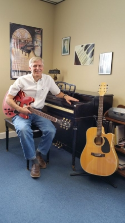 In addition to guitar, piano, and voice, I also teach songwriting and music theory!