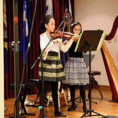 Recital at Air Force Village West for veterans