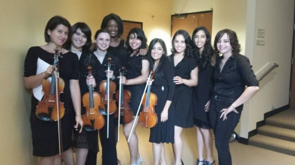 After our performance! #MyValenciaOrchestra2013