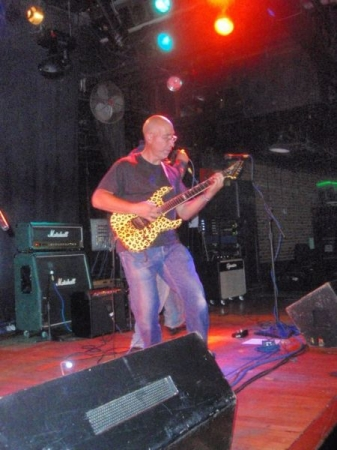 Dio Tribute/Cancer Benefit at Toad's Place New Haven, Ct. July 22, 2011. I played in a group called Shaded Mirror.