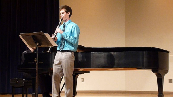 My Junior Recital at Azusa Pacific University