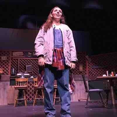 """Spitfire Grill the musical"" at Apple Hill Playhouse as Percy (August 2016)"