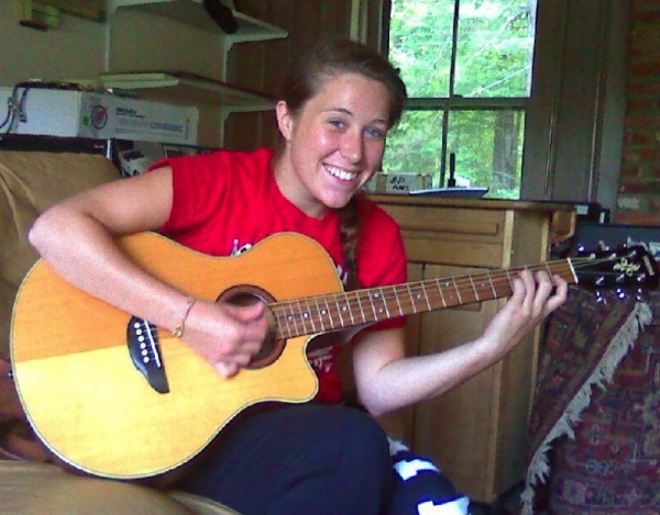 Sara D.   One of Bob's beginner guitar students, advanced to intermediate level in less than 3 months.......Bob was impressed!
