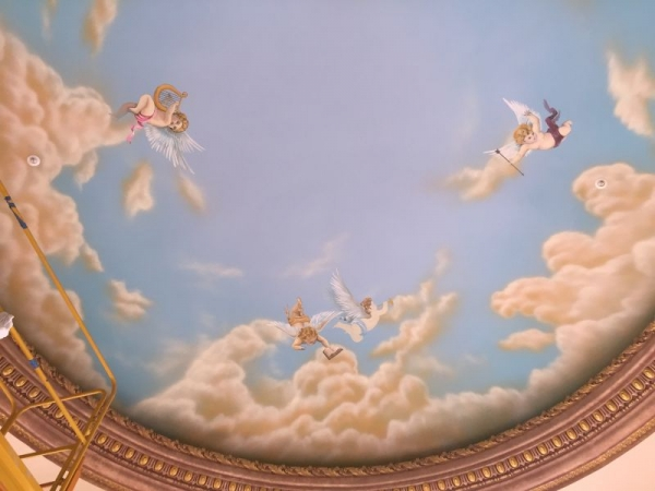 Mural on Ceiling