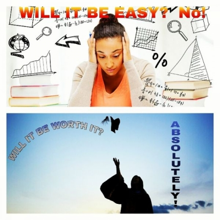 Wondering if your efforts toward your educational success are worth it? Contact me as soon as possible for help with your courses 🎓