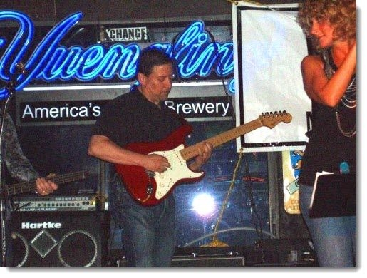 A recent gig playing with a friend's band in Tampa.
