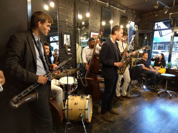 Contesta Rock Hair, New York Playing with the Neil Saidi Quintet