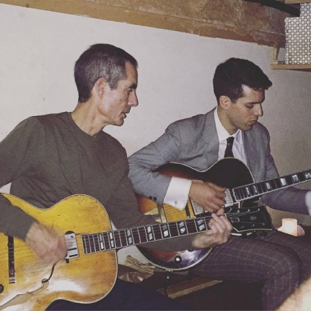 Little Branch, New York Sitting in with jazz great Chris Flory