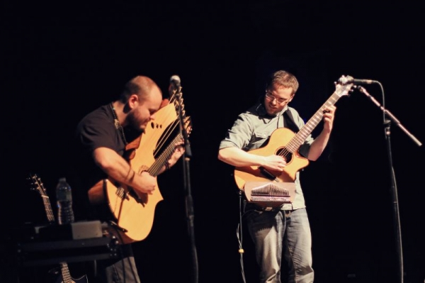 Performing with Andy McKee