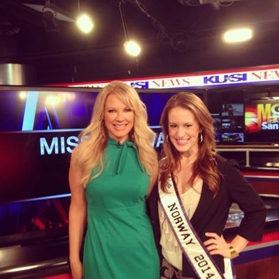 Kimberly Spencer raises awareness for eating disorders, body image issues, and fat shaming San Diego on KUSI News.