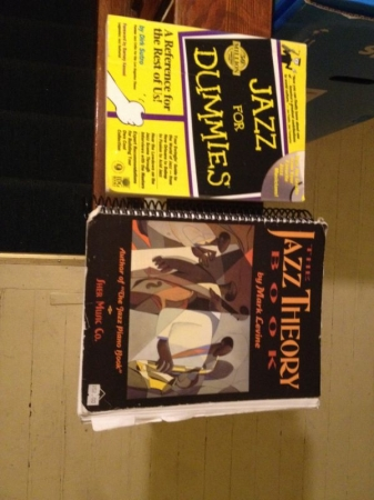 Two books we can utilize in Jazz Lessons
