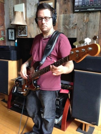 Fender Jazz bass is my instrument of choice.