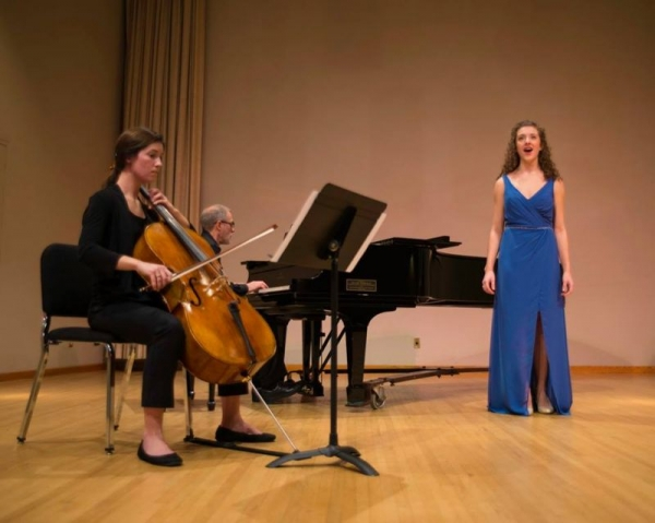 Senior Recital 2016, pianist Stephen Sulich, cellist Casey Hatlevoll