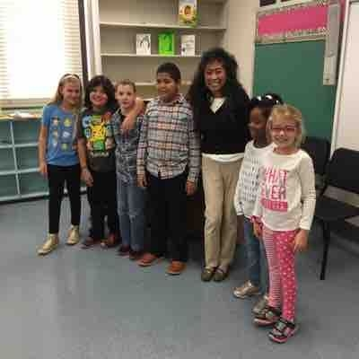 Town of Huntington piano class at Silas Elementary