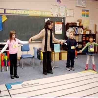 Teaching in music class