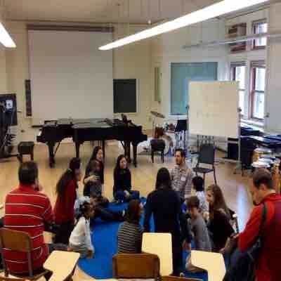 Teaching in Music Explorers, a program for 3-8 years old kids exploring piano, launched by Columbia University.