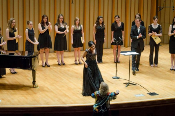 Songfest 2014 at the Colburn School in LA