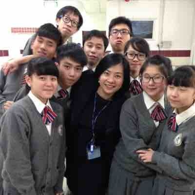 With my students in Macao!